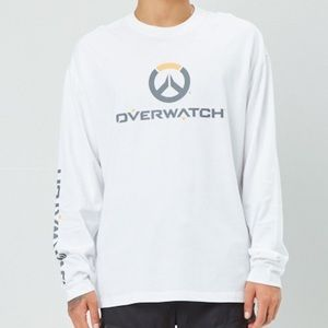 Overwatch graphic long sleeve tee